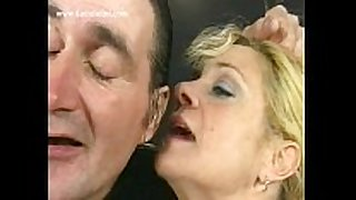 Blond milf serf with bit love milk shakes bends over and g...