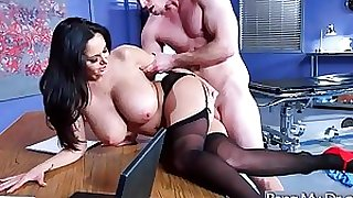 Sex adventures on tape with doctor and concupiscent patient (ava addams) video-05